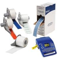 M71-14-717 Белые глянцевые этикетки из полиимида brd134345