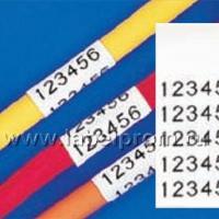 M21-500-499 лента 12,7mm/4,87m, нейлон, черный на белом brd110894