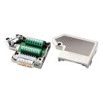 Коннектор для подключения всех управляющих сигналов интерфейса I/O при интеграции принтера в производственную линию SUB-D 25pins (i7100) brd149073